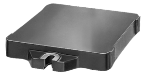 Base plate with flanges grey cast iron