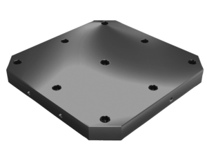 Subplates, grey cast iron with pre-machined clamping faces