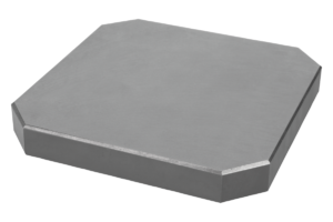 Subplates machined all sides, grey cast iron, type A