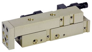 Linear modules pneumatic with rail guide