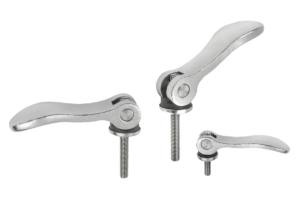 Cam levers adjustable steel, with external thread