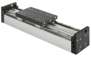 Linear gantry module with rail guides