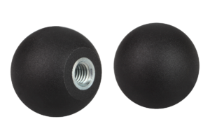 Ball knobs thermoplastic DIN 319 enhanced, Form E, with tapped bush