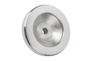 Handwheels disc, aluminium, without cylinder grip