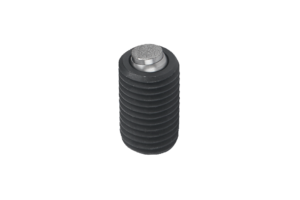 Self-aligning pads, adjustable, with O-ring and exchangeable inserts, hexagon socket, Form O, stainless steel insert with diamond impregnated face