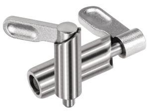 Cam-action indexing plungers stainless steel