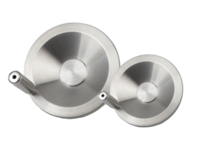 Handwheels disc stainless steel with revolving grip