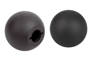 Ball knobs thermoplastic DIN 319 enhanced, Form M, with tapered bore
