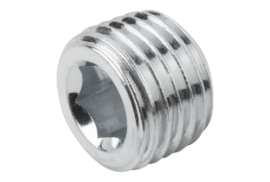 SCREW PLUG DIN906 WITHOUT VENT, M10X1,
