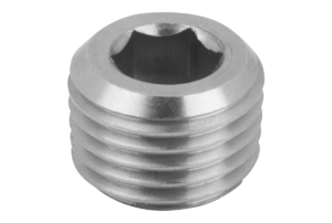 SCREW PLUG DIN906 WITHOUT VENT, M8x1,